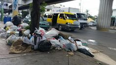 Cumulo de basura en Santo Domingo Norte preocupa a munícipes