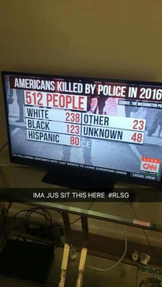#alllivesmatter look at the demographic of an are that has had a shooting of any kind, before you start claiming discrimination.