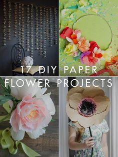 DIY Trends – 21 Paper Flower Projects