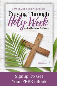 Get your heart ready for Easter with a free Praying Through Holy with Gladness & Grace 8 day guide. Daily beautiful prayers for each day leading to Easter. Prayer Scriptures, Bible Teachings, Bible Prayers, Catholic Prayers, Prayer Quotes, Faith Quotes, Bible Quotes, Bible Verses, Moon Quotes