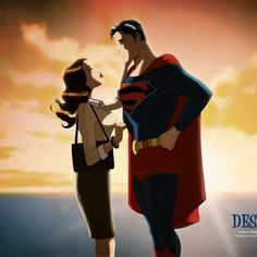 Des Taylor- Old School Superman and Lois