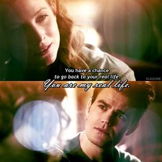 "#TVD 7x18 ""One Way or Another"" - Valarie and Stefan"