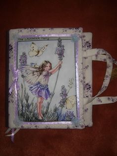 Items similar to The fairy fabric art journal on Etsy Journal Paper, Art Journals, Fabric Paper, Inspire Me, Journaling, Mixed Media, Fairy, Scrapbooking, Fantasy