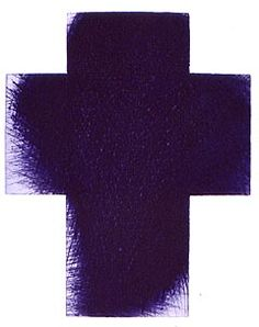 Pablo Picasso, Arnulf Rainer, Cross Symbol, Purple Art, Austria, Lilac, Cool Art, Contemporary Art, Abstract Art
