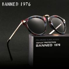 bf2f67f91c9 BANNED polarized Sunglasses for women fashion vintage cool driving feminin sun  Glasses vintage with original brand