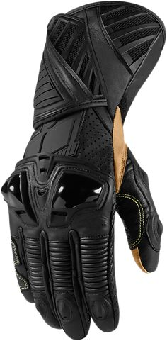 Icon Hypersport Long Glove - Stealth $180