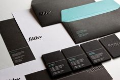 filthymedia - Corporate Identity & Stationery by filthymedia , via Behance