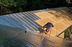 Roof Installation With Radiant Barrier