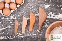 Czerpak drewniany do produktów sypkich M, 10 ml, Practic