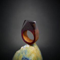 ForestDreamer / Drevený prsteň: Si ako víno