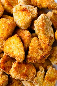Looking for the best Gluten-Free Chicken Nuggets that everyone is going to love? This recipe uses a blend of almond flour and spices to make a crunchy and delicious chicken nugget that also happens to be gluten-free and easy to make! With instructions for making in the oven, air fryer or stovetop, these healthier chicken nuggets will make for a perfect quick dinner or meal prep that will make the whole family happy. Healthy Chicken Nuggets, Chicken Bites, Keto Recipes, Healthy Recipes, Asian Beef, Gluten Free Chicken, Yum Yum Chicken, Clean Eating Recipes, Recipe Using