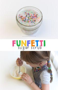 Funfetti Sugar Scrub