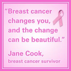 11 breast cancer quotes to inspire and push forward those battling the disease. #inspirational