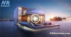 Casas de Sonho Flutuantes no Dubai Desenhadas Por Arquiteto Português