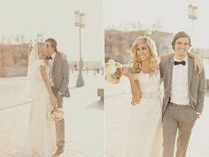 Romantic Utah Wedding: Vintage Lace  & Pastel Florals - Bridal Musings Wedding Blog