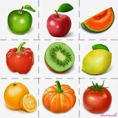 name the food. add the color of the fruit on the back and the Word so they can see how it is spelled Infant Activities, Learning Activities, Activities For Kids, Fall Art Projects, Projects To Try, Spanish Teaching Resources, Fruits For Kids, Picture Writing Prompts, Fruits Images