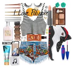 i love poly by loving-q on Polyvore featuring polyvore fashion style Bling Jewelry FOSSIL Nouv-Elle Marc by Marc Jacobs M&Co Disney Urban Decay Maybelline Easy Spirit Rimini Eos Hawaiian Tropic Retrò Happy Plugs clothing