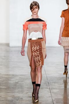look 7 spring 2013 ready-to-wear by louise goldin