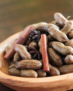 Chinese Boiled Peanuts from @steamykitchen
