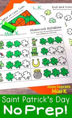 Patrick Mathematics and literacy – Find Your St Patrick's Day Activities St Patrick Day Activities, Activities For Teens, Kindergarten Activities, Writing Activities, Math Literacy, Teaching Resources, Saint Patrick's Day, St Patricks Day Wallpaper, St Patricks Day Quotes