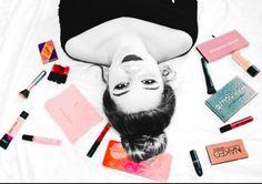 I admit I'm a makeup addict! A pop of color is always super fun and unique!