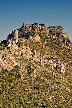 Castillo de Montornés .Castellon .Spain .