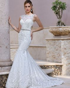 DaVinci Bridal Wedding Collection: Featured Dress of the Day  Style #50359 by @DaVinciBridal