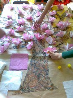 Użyj STRZAŁEK na KLAWIATURZE do przełączania zdjeć Home Crafts, Diy And Crafts, Crafts For Kids, Arts And Crafts, Toddler Classroom, May Arts, Spring Tree, Paper Roll Crafts, 3d Wall Art
