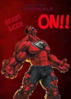 Beast mode az cardinals