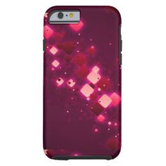 Awesome purple background graphic design tough iPhone 6 case