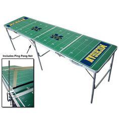 Tailgate Toss NCAA 2' x 8' Tailgate Pong Table NCAA Team: