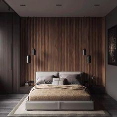 Beautiful Home Interior Minimal Interior Design Inspiration Luxury Bedroom Design, Bedroom Bed Design, Modern Master Bedroom, Home Decor Bedroom, Contemporary Bedroom, Modern Mens Bedroom, Masculine Master Bedroom, Bedroom Ideas, Modern Minimalist Bedroom