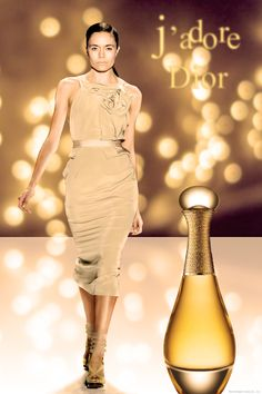 J'adore Dior magazine type ad..
