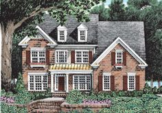 Neyland - Home Plans and House Plans by Frank Betz Associates