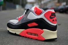 Vuelven las Nike Air Max 90 Infrared