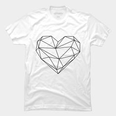 Empty Heart T Shirt By Goljakoff Design By Humans Empty Heart, The Heart Of Man, Tank Man, Long Sleeve Tees, Pullover, Hoodies, Design Art, Mens Tops, T Shirt
