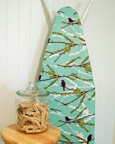 Designer Ironing Board Cover  Joel Dewberry Aviary by BarefootLake, $24.00