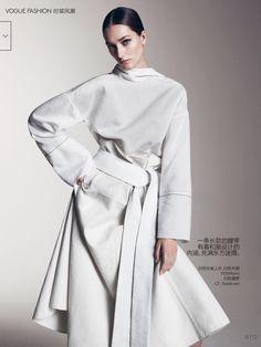 Josephine Le Tutour by Sharif Hamza - Vogue China May 2015