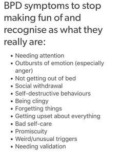 this is either bipolar disorder or borderline personality disorder, but still. Mental Disorders, Anxiety Disorder, Bpd Disorder, Mental Health Issues, Mental Health Awareness, Bpd Symptoms, Bi Polar Disorder Symptoms, Borderline Personality Disorder Symptoms, Depression Symptoms