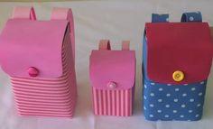 Os artesanatos com caixa de leite podem, sim, ser muito interessantes Minnie Mouse Party, Mouse Parties, Milk Box, Fashion Backpack, Sunglasses Case, Recycling, Diy, Mini Mochila, Gabriel