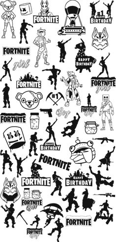 Fortnite vector design High Quality, all fortnite art have 4 formats . generaly used for create stickers, tshirt or decoration for fortnite happy birthday. Funny Happy Birthday Images, Birthday Humorous, Birthday Sayings, Birthday Greetings, Birthday Wishes, Birthday Cards, Cricut Svg Files Free, Best Gaming Wallpapers, Cricut Tutorials