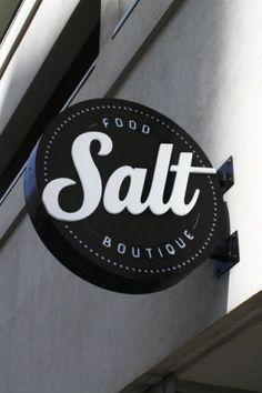 SALT Food Boutique: LED Signs