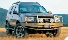 Nissan Pathfinder ARB deluxe bar picturs | ARB 3438270 - ARB Deluxe Winch Bull Bar Bumper for 05-09 Nissan Xterra ...