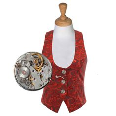 Every waistcoat from Steampunk Movement is as unique as you are! Browse our selection and you will be sure to find something you like, with everything handmade to order!