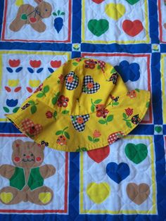 70s Toddlers Sun Hat by lishyloo on Etsy