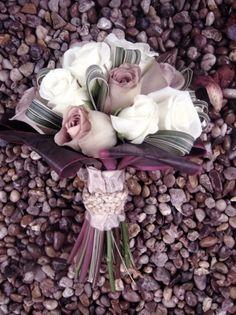 Bridal bouquet Amnesia Roses