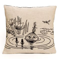 Little My cushion cover by Aurora Decorari - The Official Moomin Shop  - 2