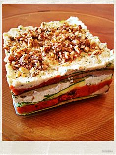 "Raw Love Recipes: Lasagna a la ""Cru"""