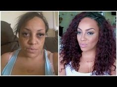 BEFORE & AFTER Beauty On A Budget Running Late Makeup Look - YouTube