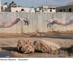Street art in Bethlehem